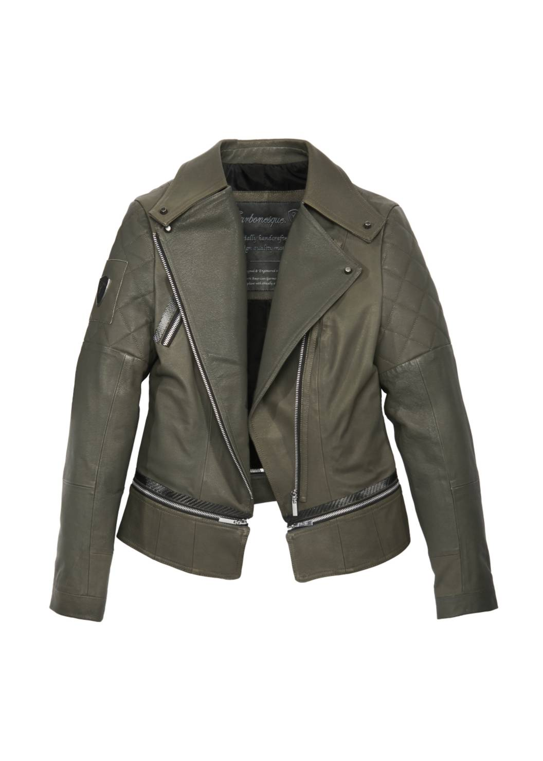 Carbonesque womens lexie-m leather jacket