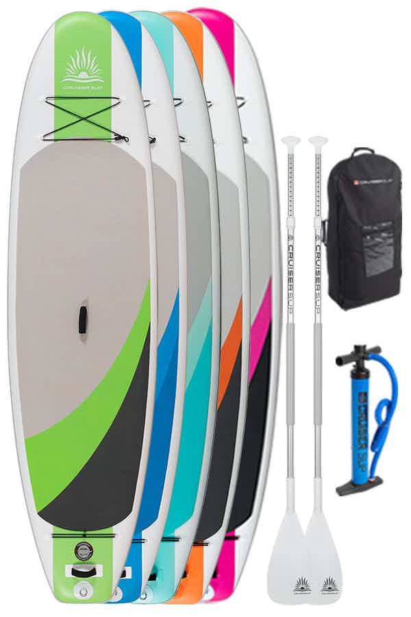 Cruiser SUP Crossover Air inflatable 2 paddleboard package