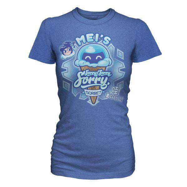 Product image of Overwatch Mei's Sorry Sorbet Women's Tee