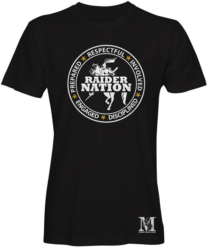 Black Mercer Middle School T-Shirt