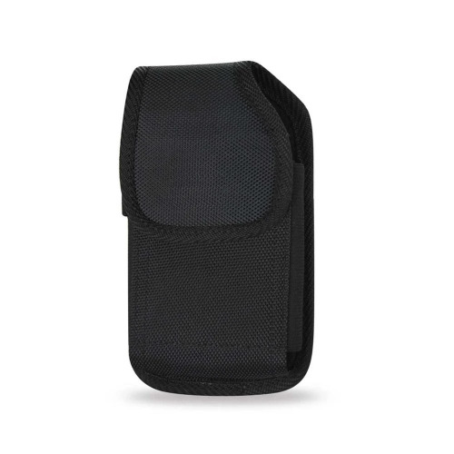 lg v40 thinq Canvas Case Holster Pouch with Metal Belt Clip