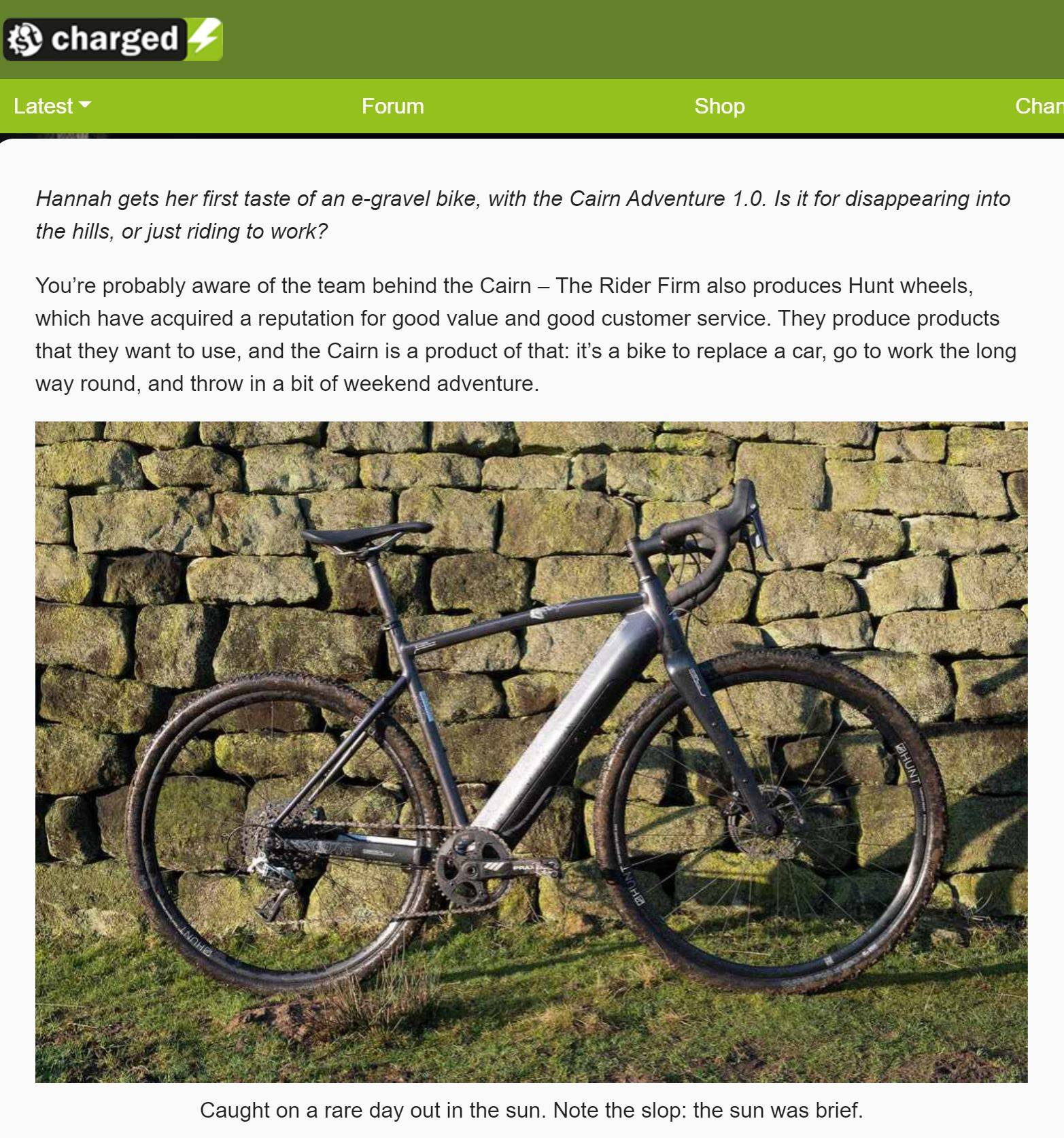Singletrack Charged Review