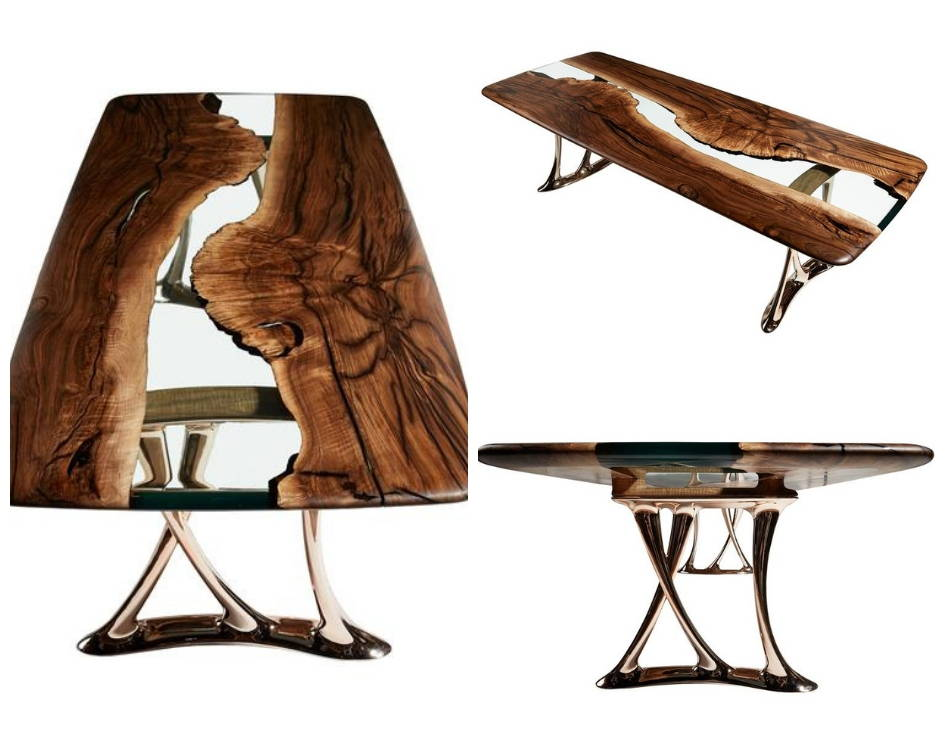 Osso 270 Resin Dining Table Limited Edition
