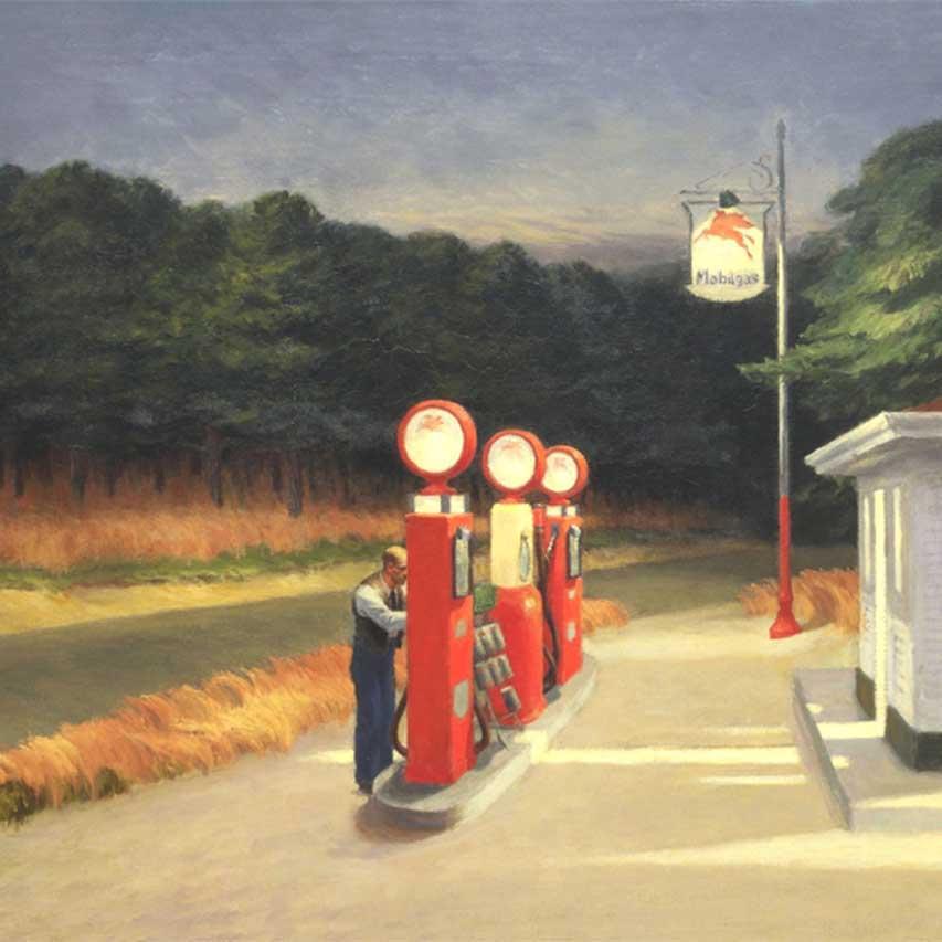Edward Hopper Art