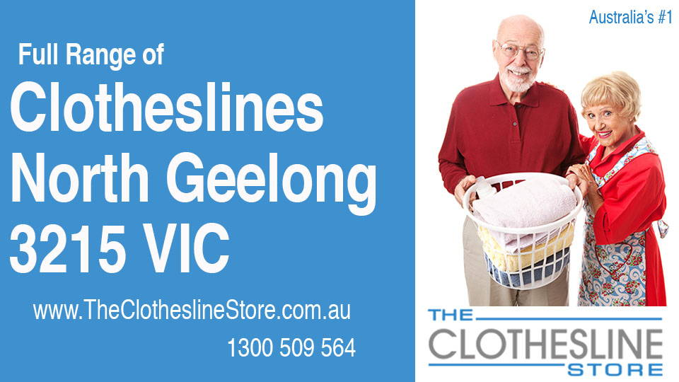 New Clotheslines in North Geelong Victoria 3215
