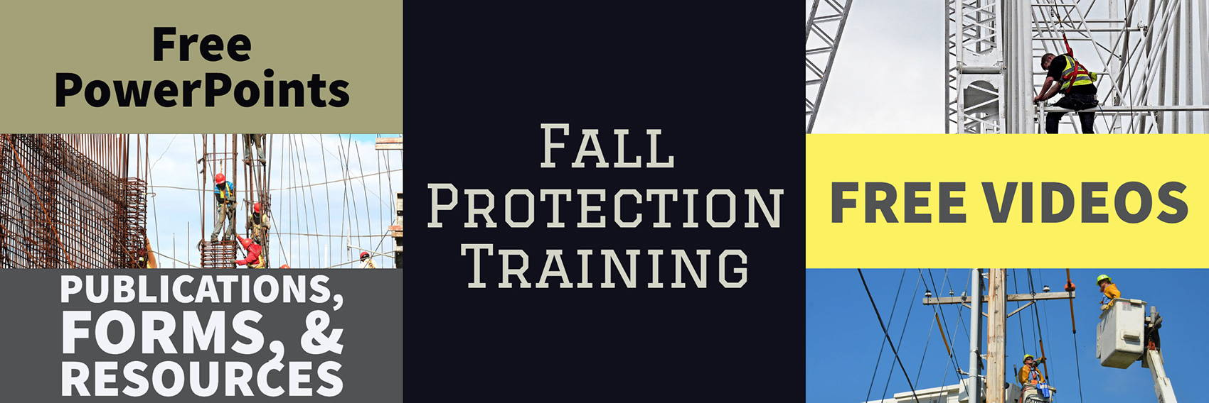 Fall Protection Training Page Banner