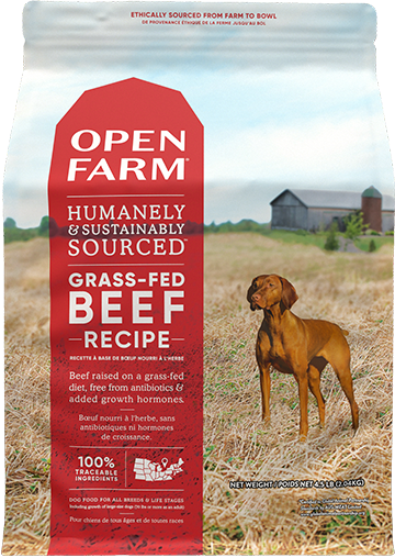 Grass-Fed Beef Dry Dog Food | Open Farm