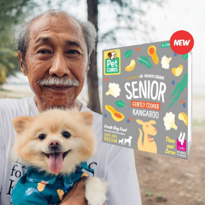 pet cubes frozen gently cooked senior dog food singapore