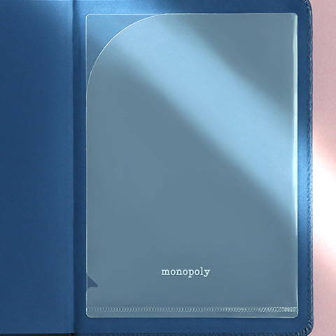 Comes with pocket sticker - Monopoly 2020 Appointment B6 Free dated daily planner