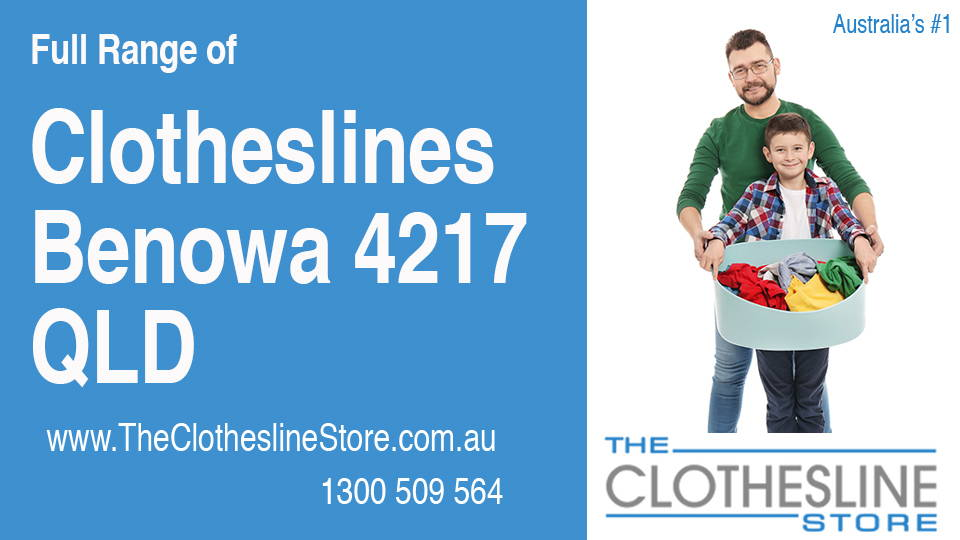 New Clotheslines in Benowa Queensland 4217