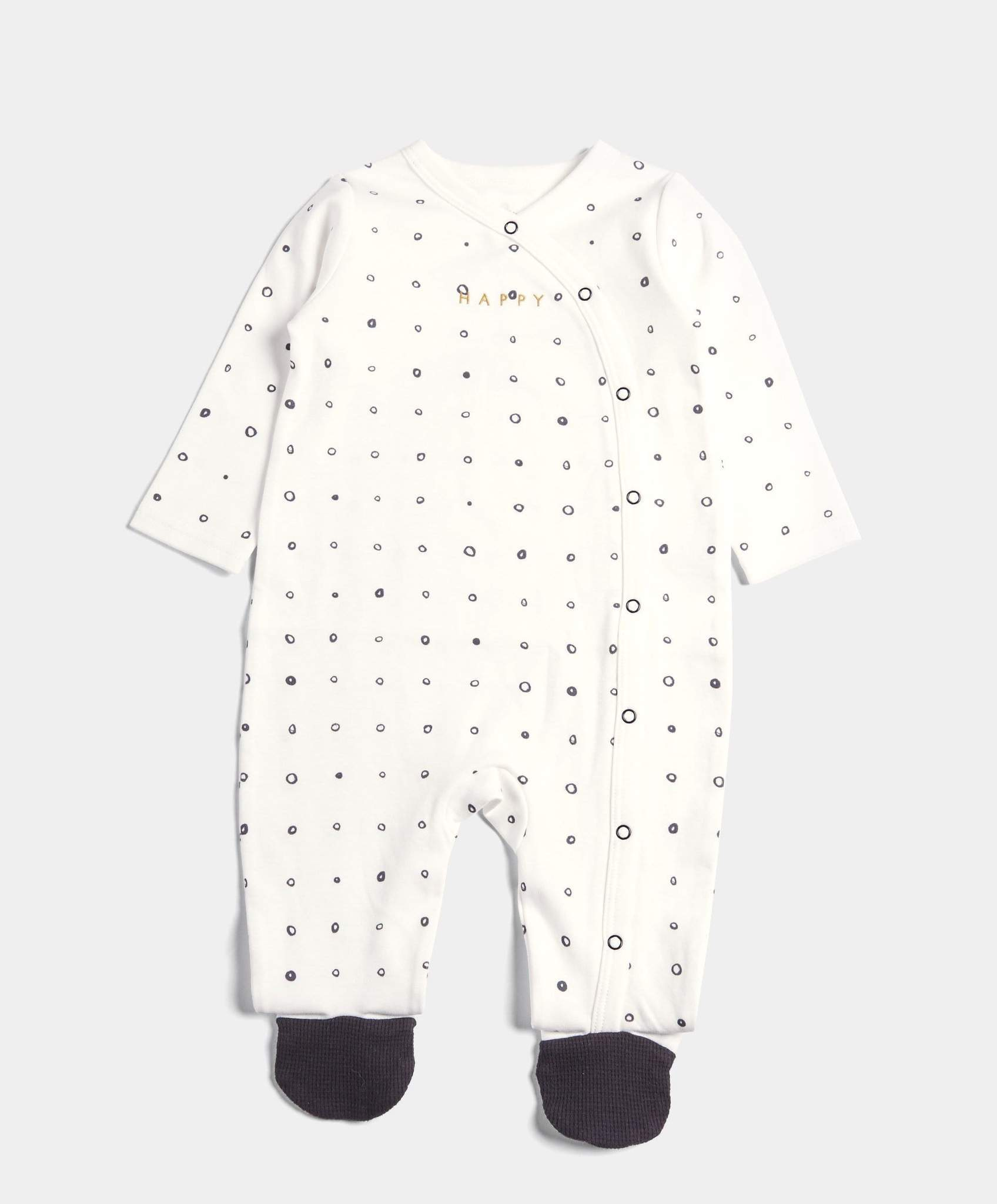 Printed Happy Sleepsuit