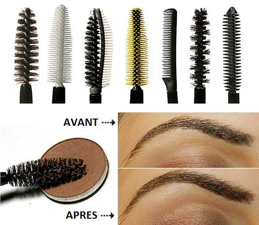 Brosses de mascara