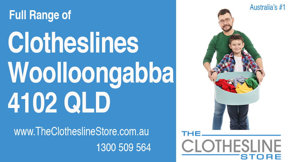 New Clotheslines in Woolloongabba Queensland 4102