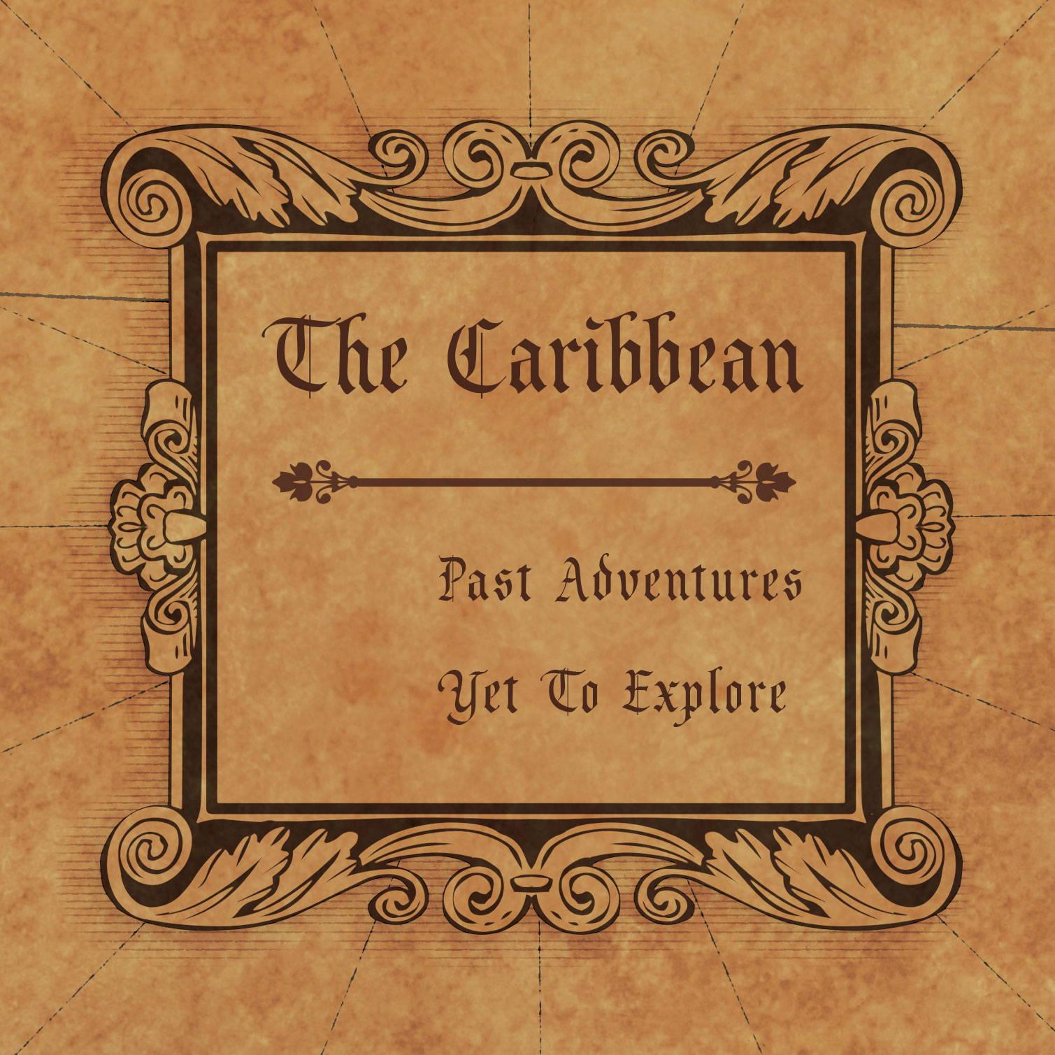 Conquest Maps Golden Aged Caribbean Legend