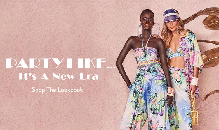 PARTY LIKE... It's A New Era | Shop The Lookbook | CAMILLA Palm Print Outfits