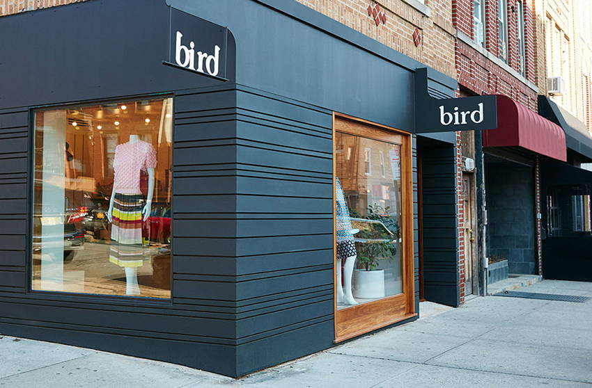 Exterior of Bird Cobble Hill