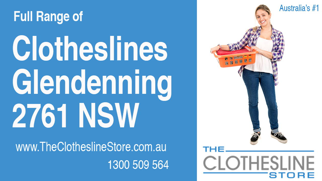 New Clotheslines in Glendenning 2761 NSW
