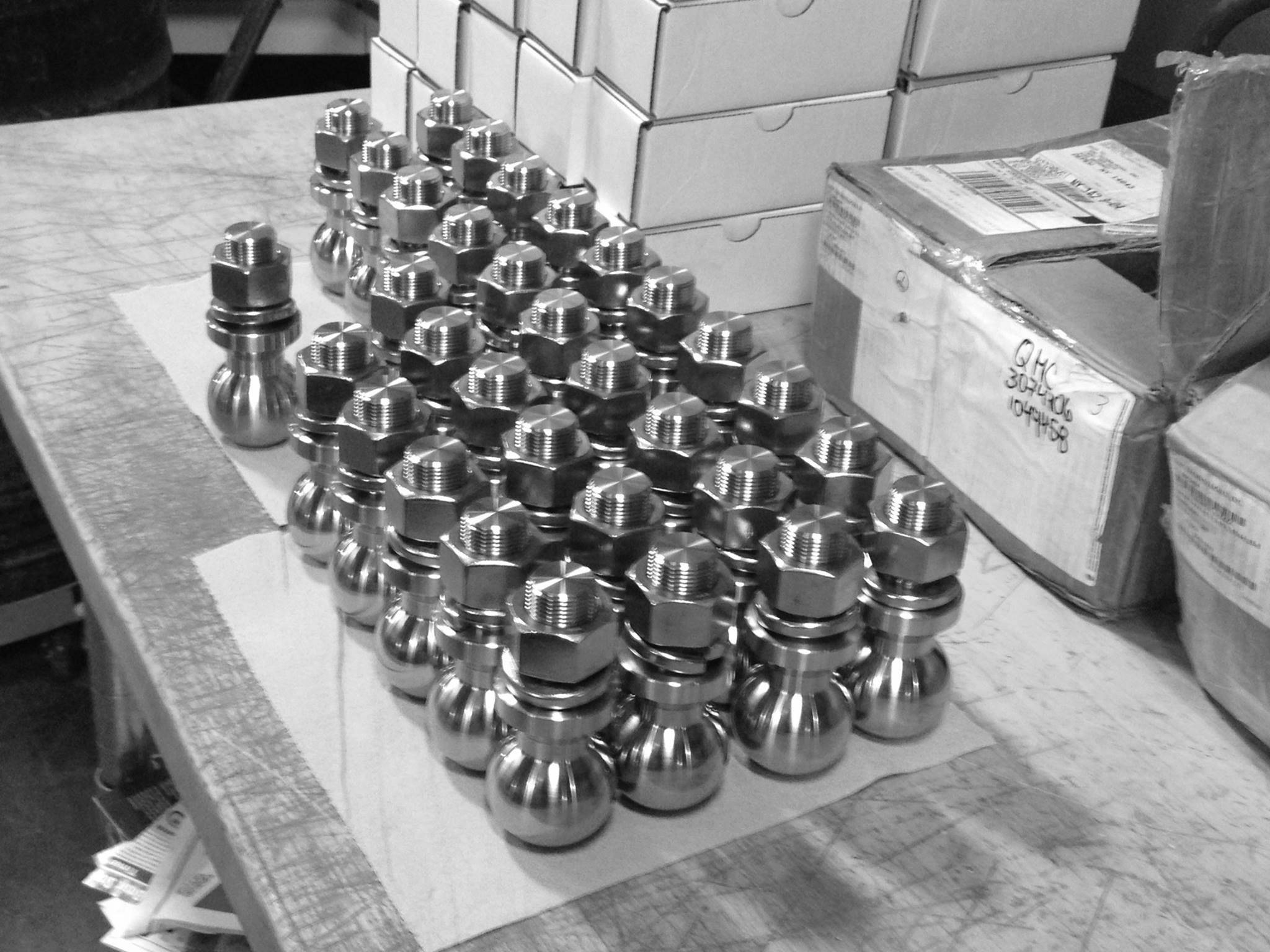 QMC's Stainless Steel Hitch Balls