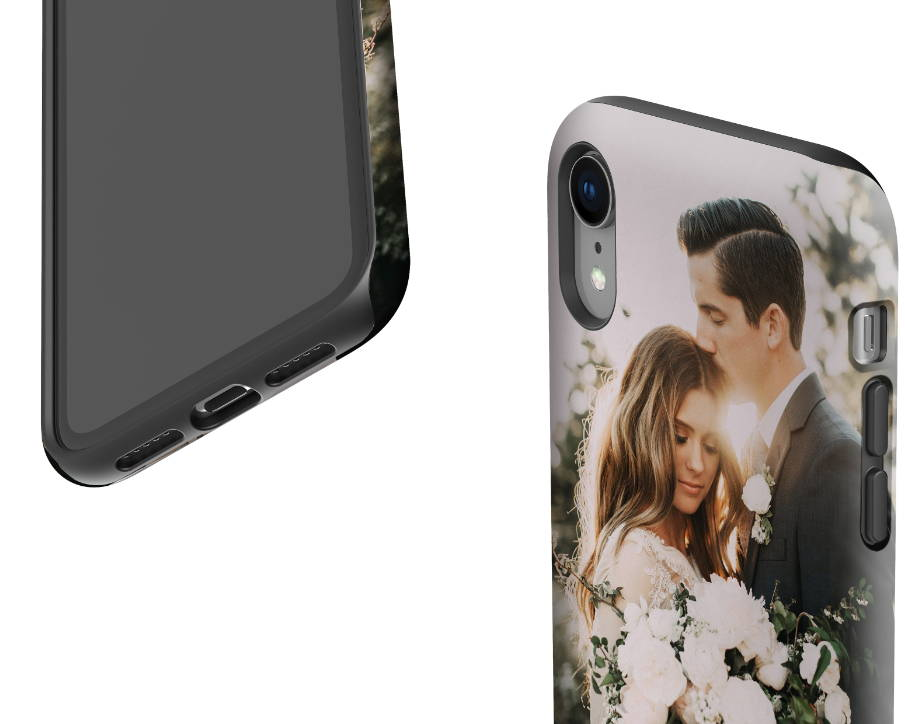 Custom iPhone XR Extra Protective Case Expanded Close