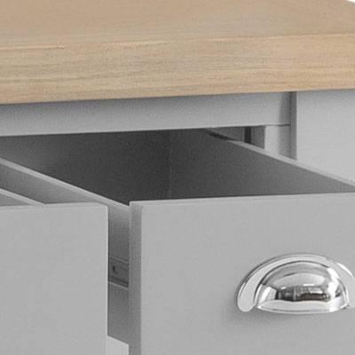 Grey Painted & Oak Furniture