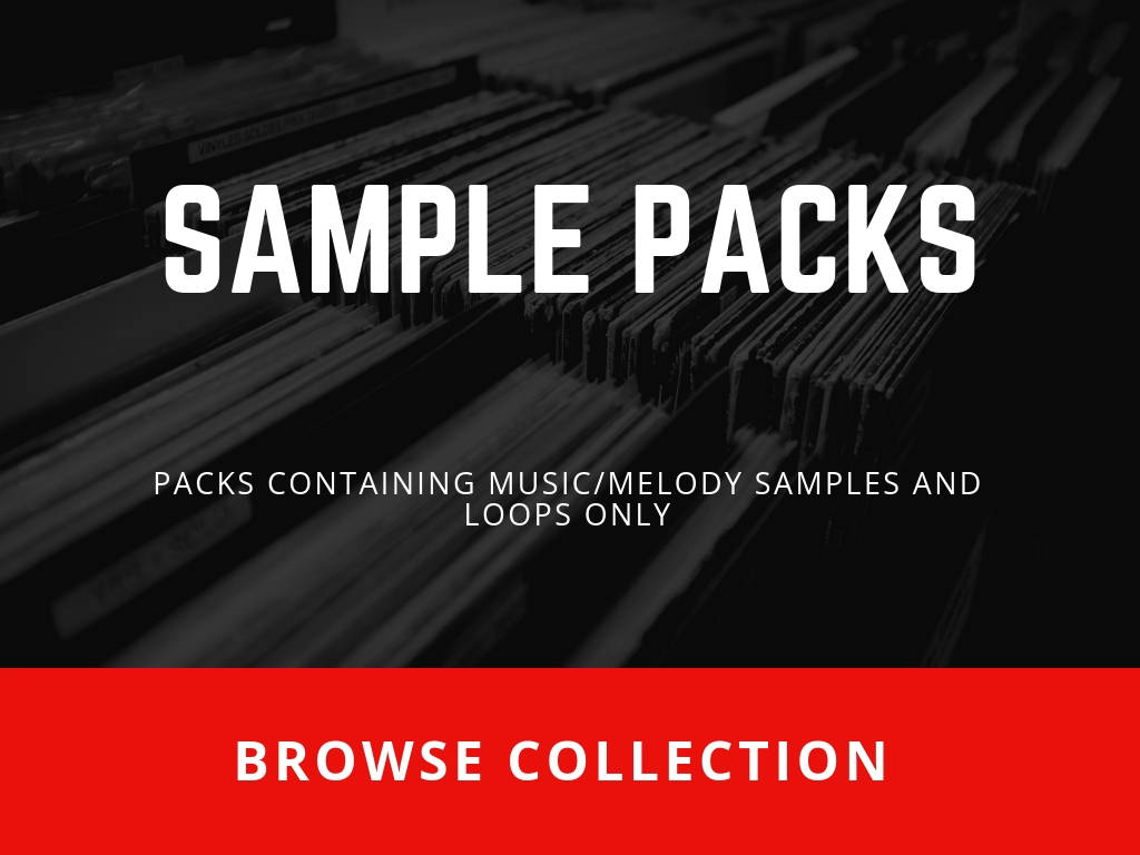 All SoundOracle Sound Packs containting Music / Melody Samples and Loops only