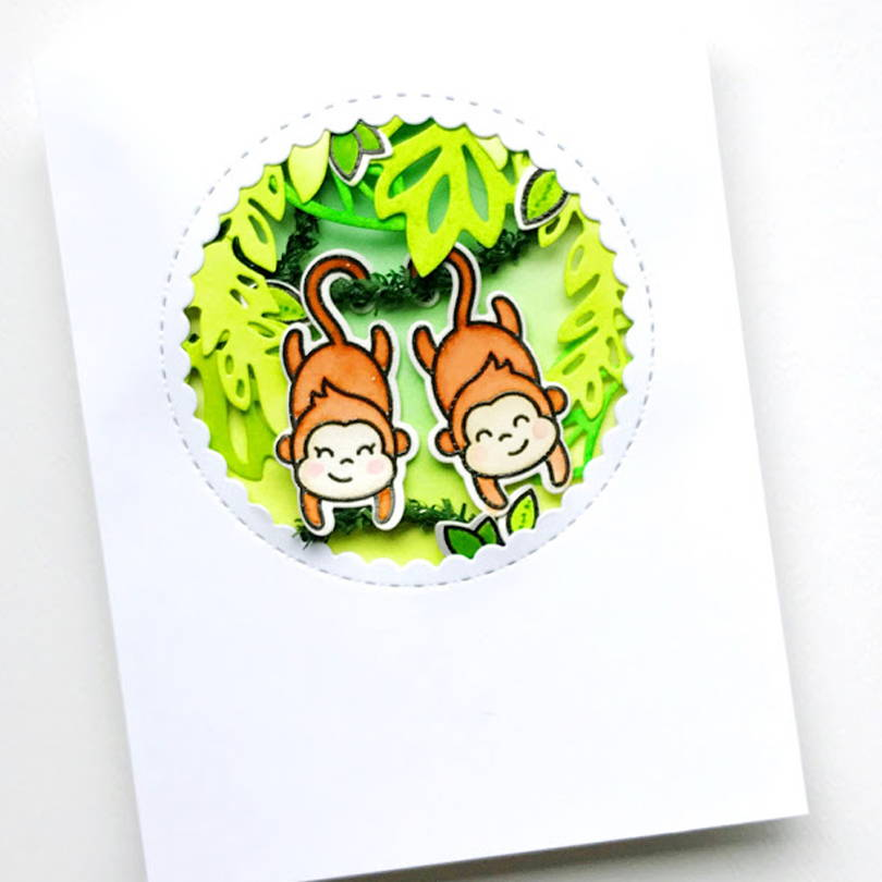 Love Ya' Bunches card by Carly Tee