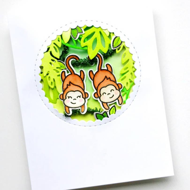 Love Ya' Bunches card by Carly Tee