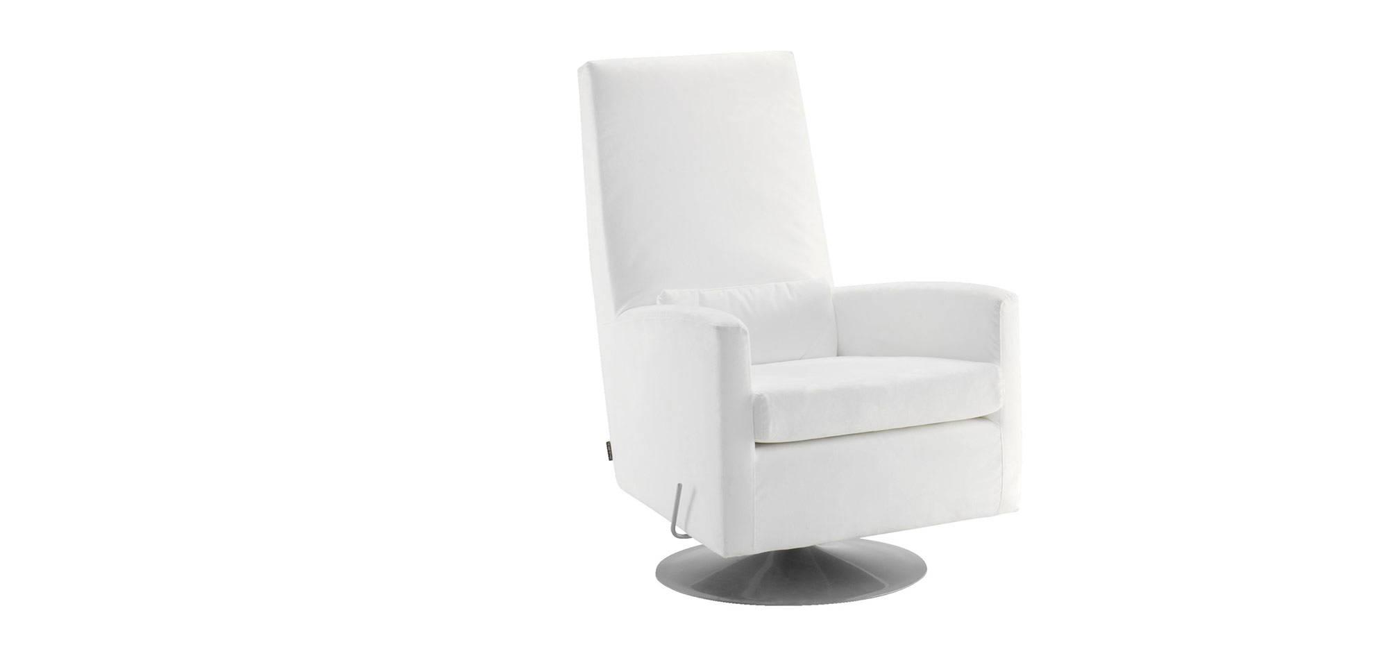 Club-tuoli, valkoinen kangas . HT Collection
