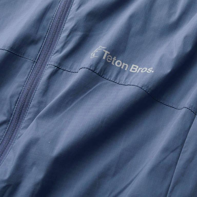 Teton Bros.(ティートンブロス)/ウインドリバーフーディ/ブルー/WOMENS