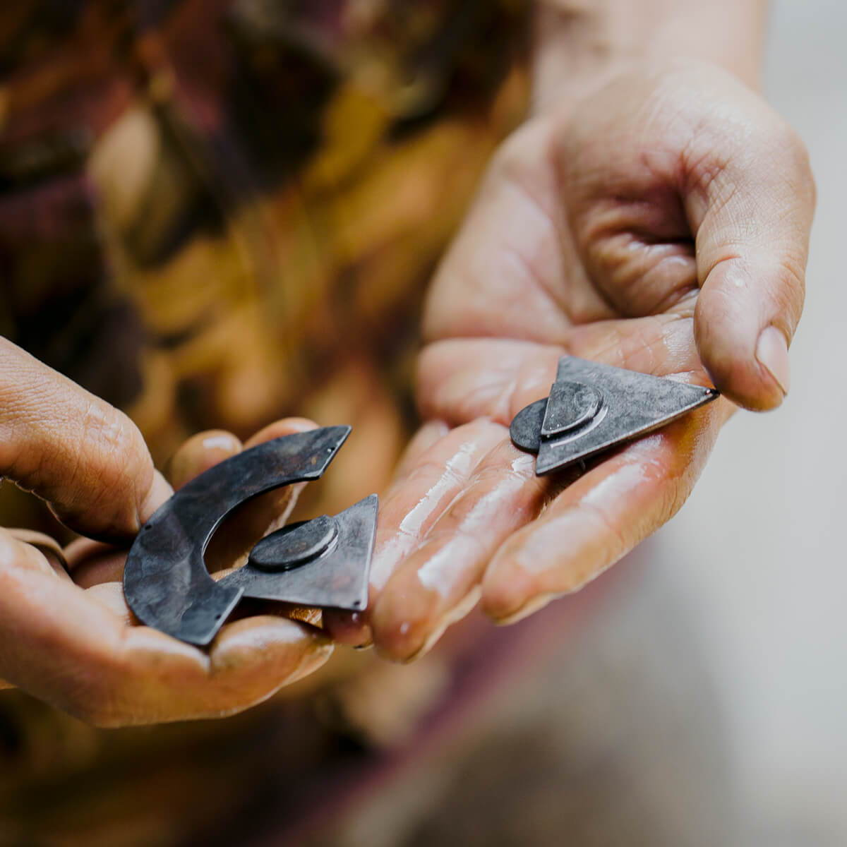 Hand-forged jewelry ethically made in Nepal