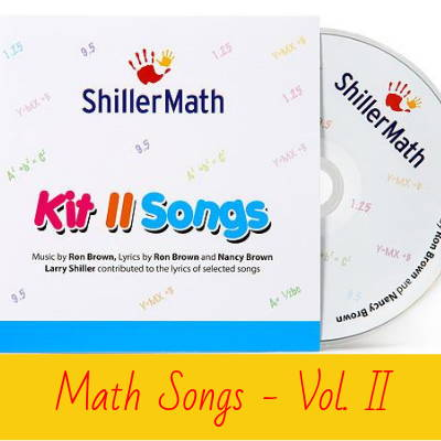 Math Songs - Vol II