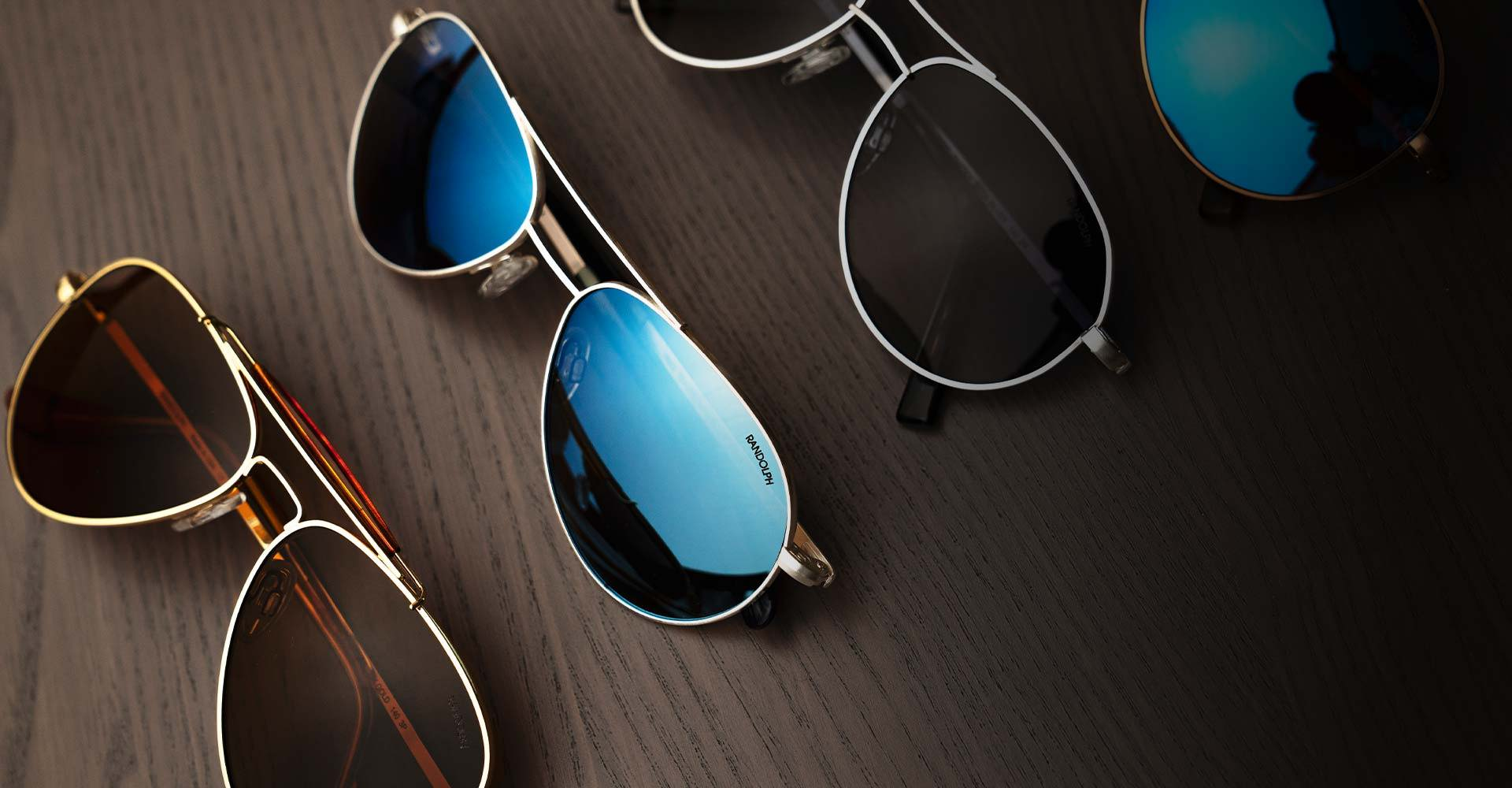 teardrop aviator sunglasses