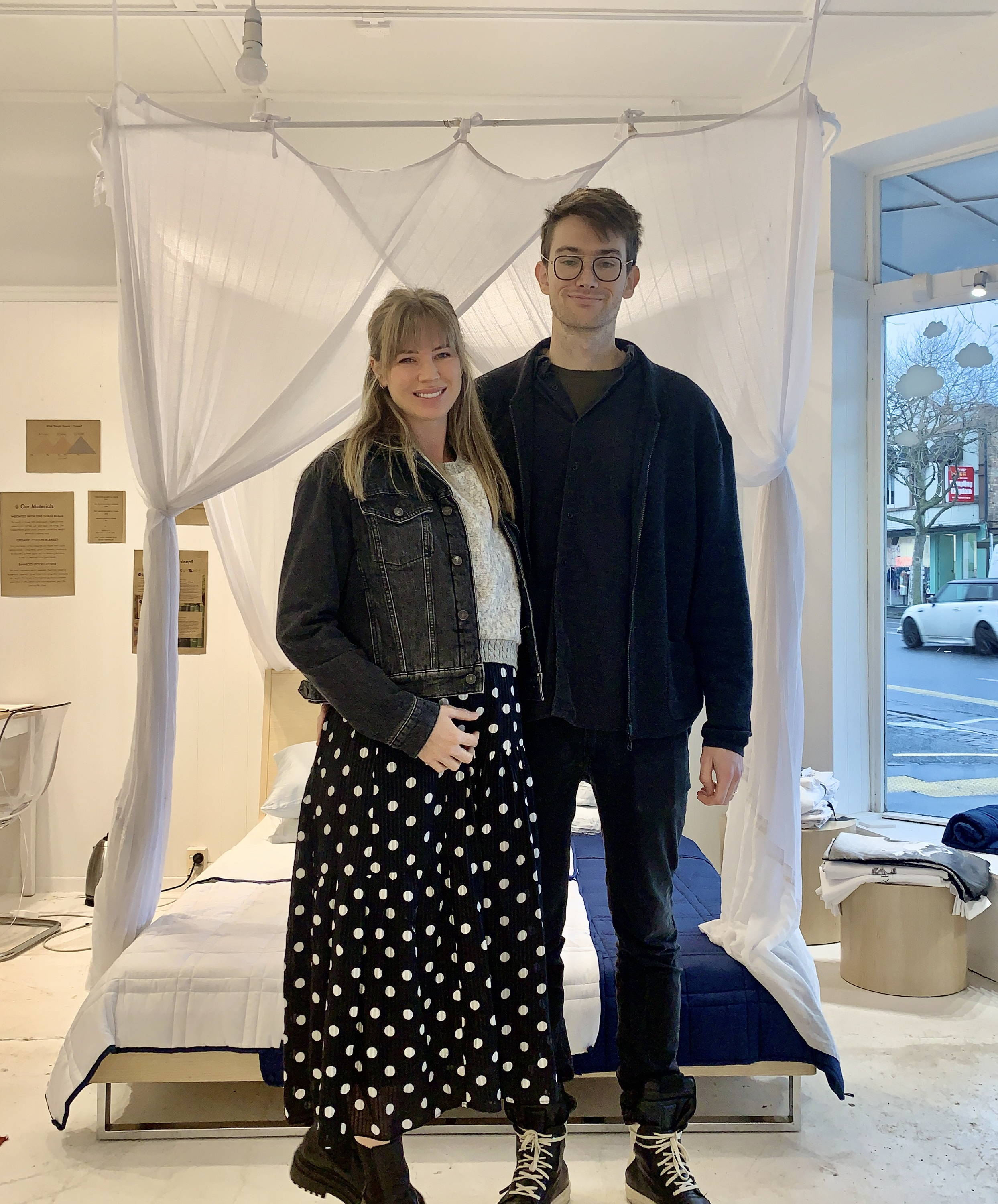 Groundd Weighted Blanket founders