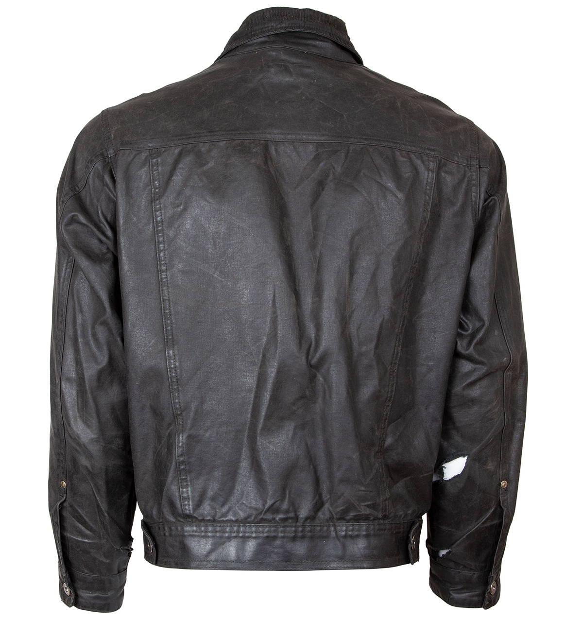 Iron & Resin Rambler Jacket Weathered & Worn Customer Repair Backside