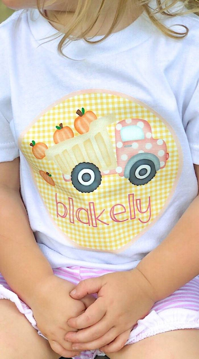 photograph relating to How to Use Printable Heat Transfer Vinyl titled Do-it-yourself Drop Tees for Young children with Inkjet Printable Warmth Go Vinyl