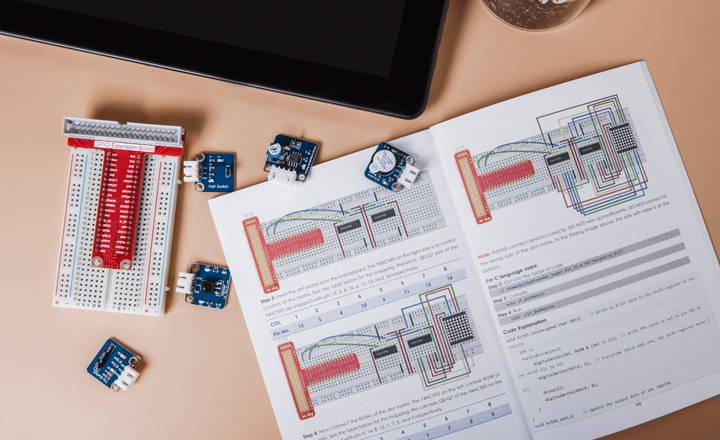 Circuit Starter Learning Kit – RasPad | World's First