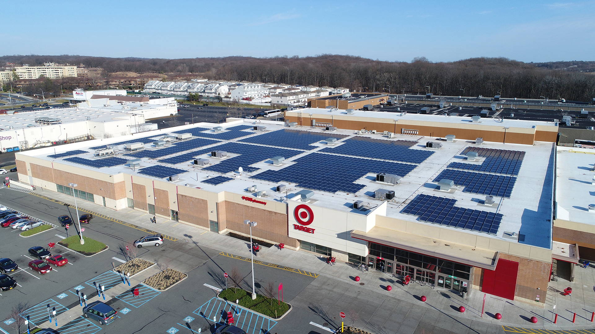 Target Store with Solar Array