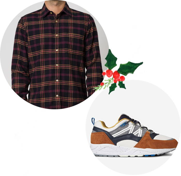 Portuguese Flannel Shirt and Karhu Fusion Trainers