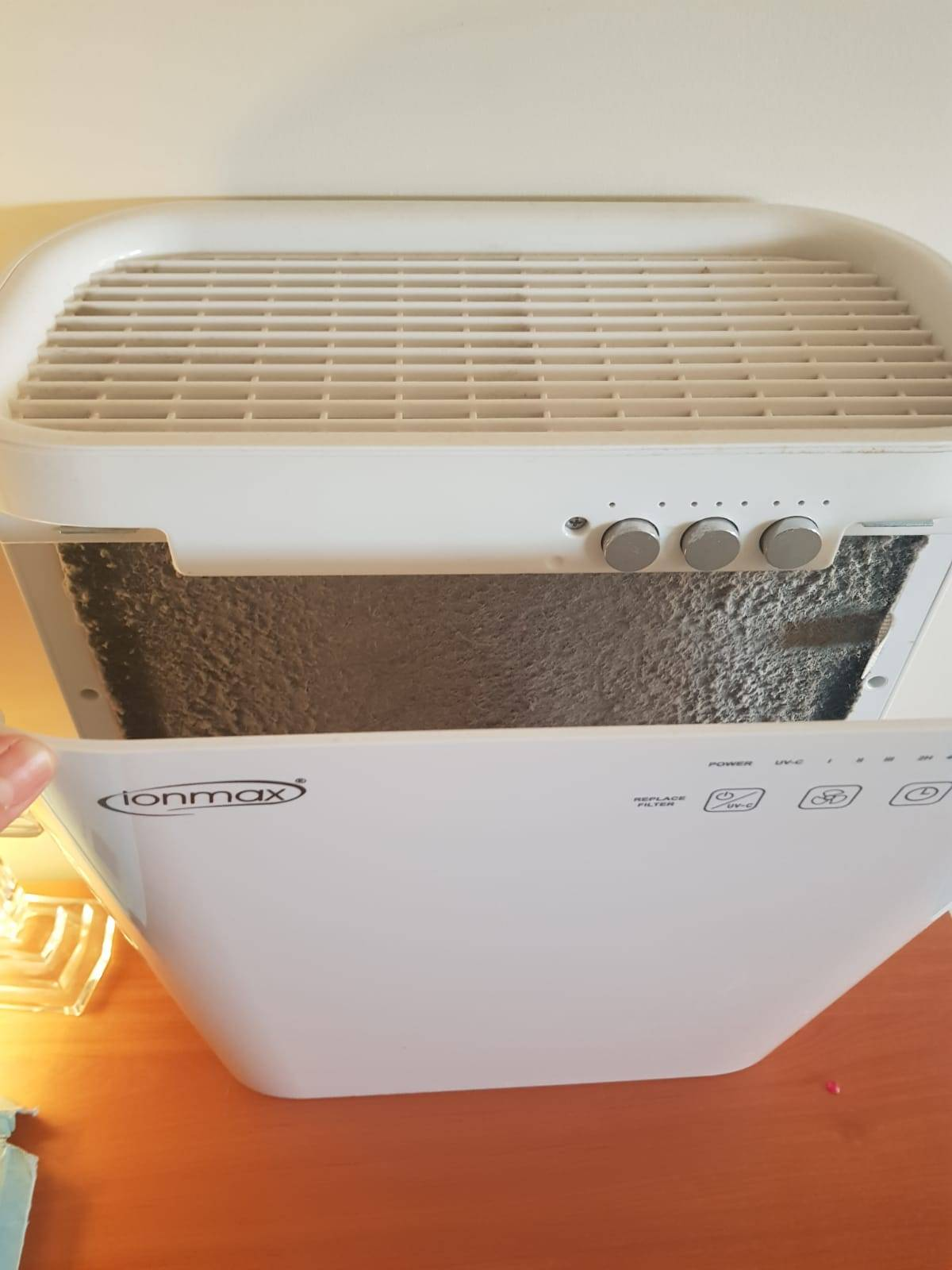 Ionmax air purifier review - Breeze ION420