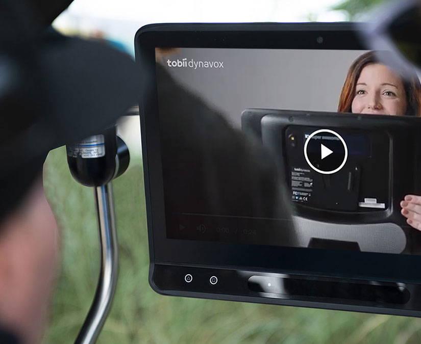 Tobii Dynavox device tutorial video