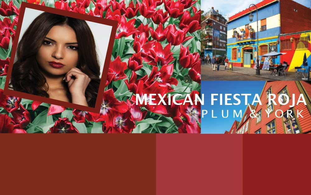 Mexican Fiesta Roja lipstick by Plum & York