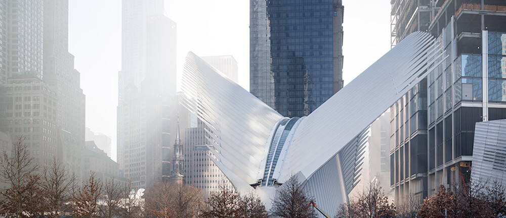 Calatrava World Trade Center Transportation Hub
