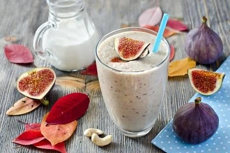 Quinoa-Drink mit Feigen