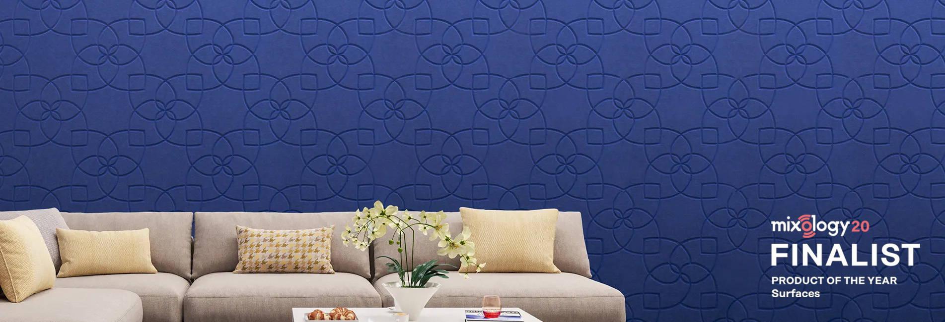 V Cut Acoustic Wall Panels