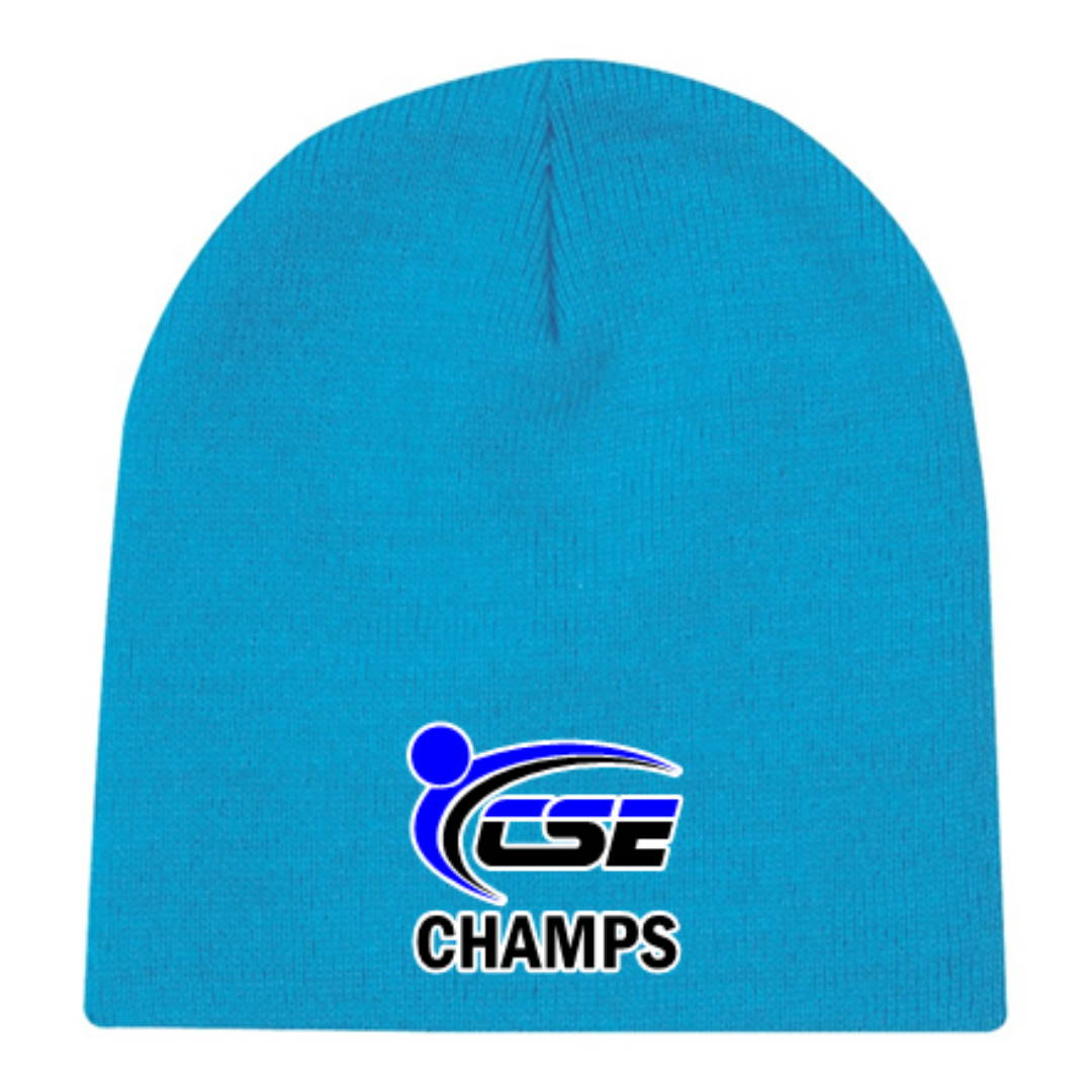 Custom Embroidered Toque Example 1
