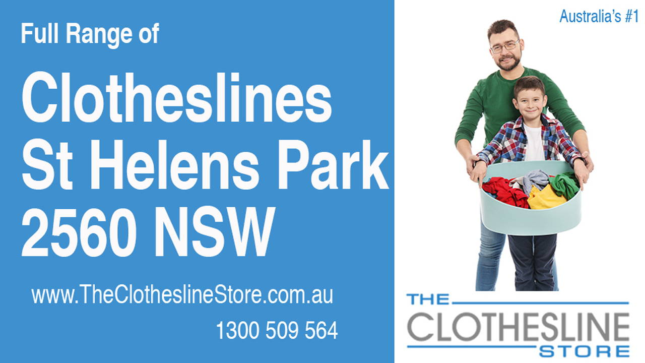 New Clotheslines in St Helens Park 2560 NSW