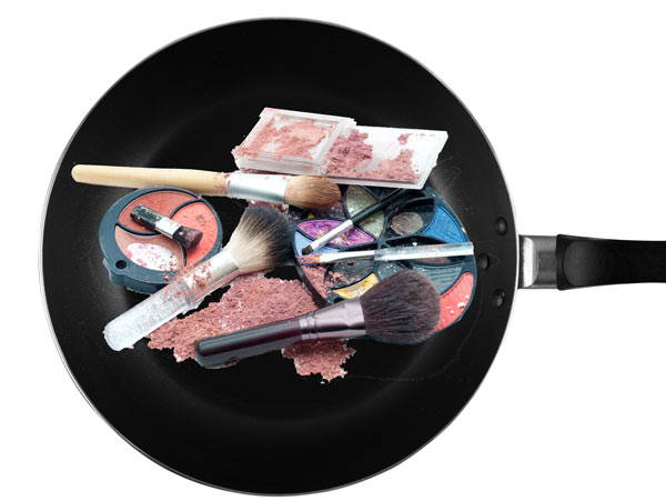 Is there Teflon® in my makeup?