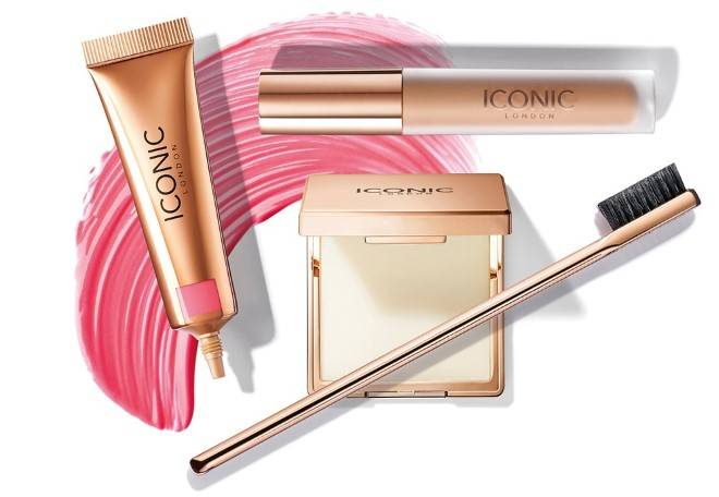ICONIC Sheer Blush, Seamless Concealer and Brow Silk
