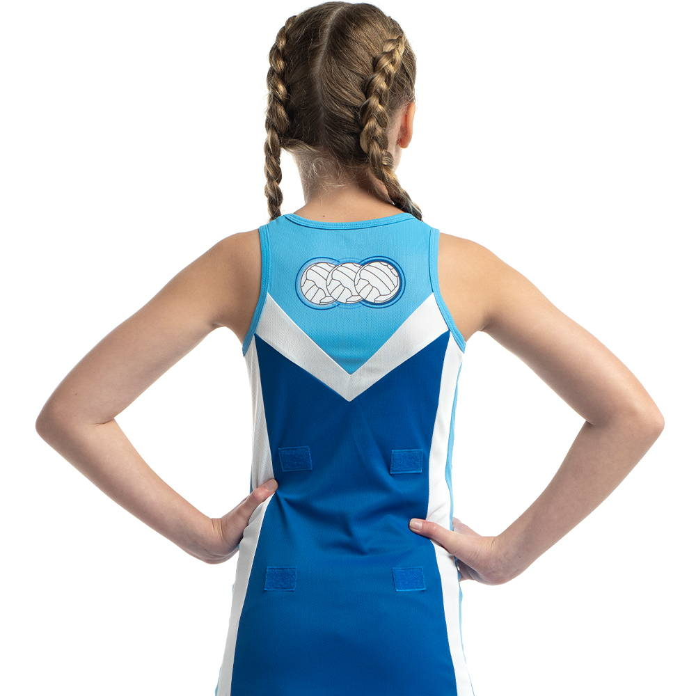 Design your own custom netball dress with Valour Sport
