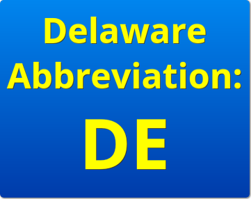 delaware abbreviation DE | delaware business incorporators, inc.